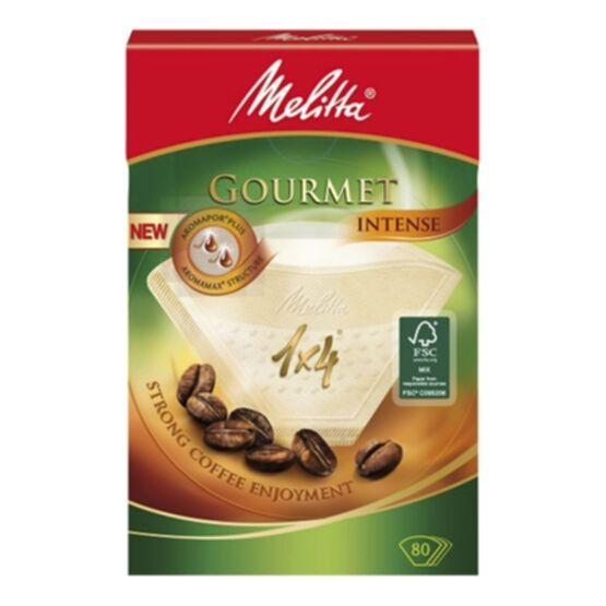 Melitta suodatinpussi Gourmet Intense 1 x 4, 80 pss 4006508208821 Replace: N/A