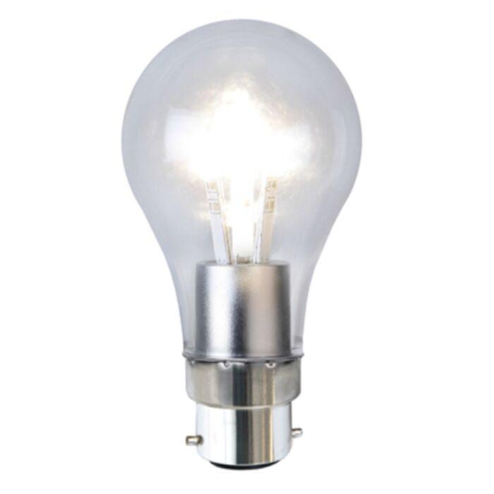 Star Trading Sisustus LED kirkas B22 2100K 1,7W(12W) 120lm 338-22-2 Replace: N/A