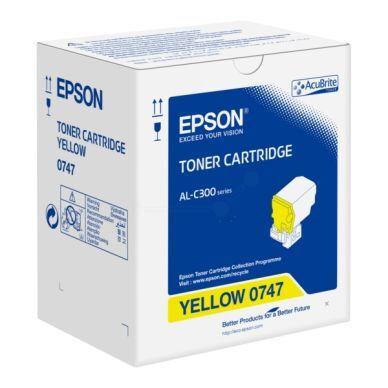 Epson Värikasetti keltainen 8.800 sivua S050747 Replace: N/A