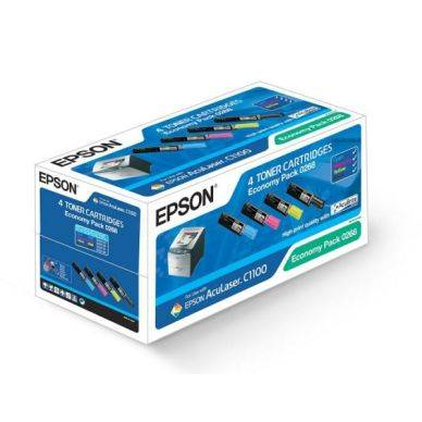 Epson Värikasetti Value-Kit (Bk,C,M,Y), Innehåll 4500+3x1500 S050268 Replace: N/A