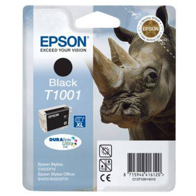 Epson Mustepatruuna musta T100 25,9 ml T1001 Replace: N/A