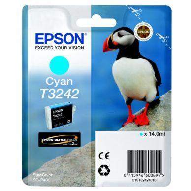 Epson Mustepatruuna cyan 14 ml T3242 Replace: N/A