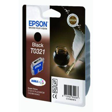 Epson Mustepatruuna musta 33ml T0321 Replace: N/A