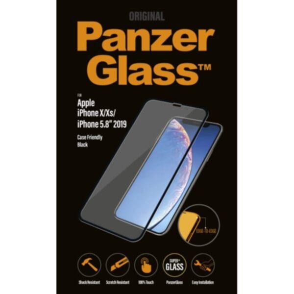 Apple Panzerglass PanzerGlass Apple iPhone X/Xs/11 Pro Case Friendly, musta 5711724026645 Replace: N/A