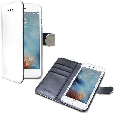 Apple Celly Wally Wallet Case, iPhone 7, valkoinen/harmaa WALLY800WH Replace: N/A