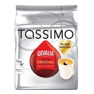 Tassimo Gevalia Tassimo Keskipaahto kahvikapselit, 16 annosta 7622210001566 Replace: N/A