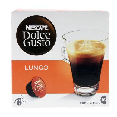 Dolce gusto Nescafe Dolce Gusto Lungo kahvikapselit, 16 annosta 5011546498423 Replace: N/A