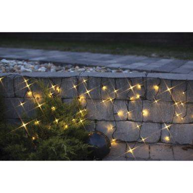 Star Trading LED-valosarja jääpuikko,144-os. 4m, musta kaapeli 7391482014863 Replace: N/A