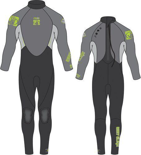 Body Glove M�rk�p. bodyglove stmr 3/2 miesten grey xl