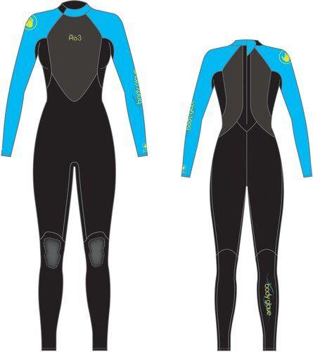 Body Glove M�rk�p. bodyglove stmr 3/2 naisten blue s