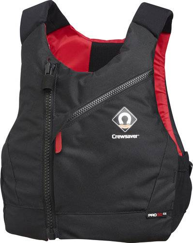 Crewsaver Crews. pro 50N musta/punainen M/L