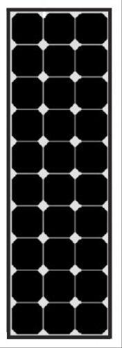 Solara Dc solar 100 wp sunpower black