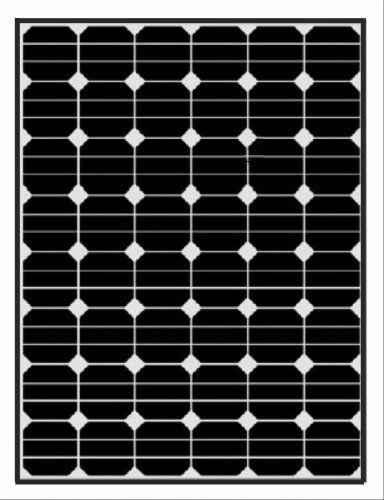 Solara Dc solar 150 wp sunpower black