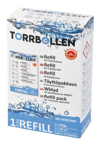 Torrbollen-kosteudenpoistajan refill 1/kpakk