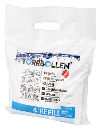 Torrbollen Refill torrbollen-kosteudenpoistajaan 4/kpakk