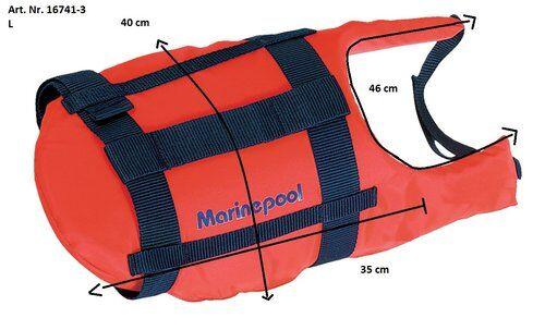 Marinepool Koiran pelastusliivi L