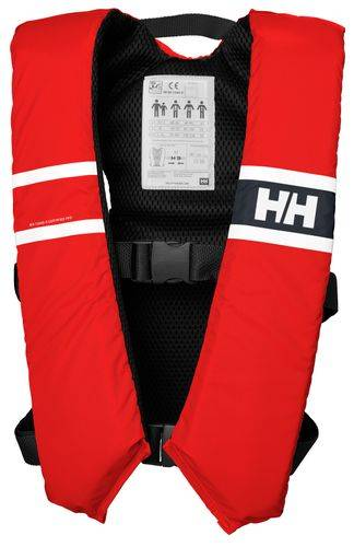 Helly Hansen Comfort compact pelastusliivi, punainen, 40-60kg