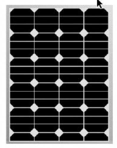 Solara Dc solar 70 wp sunpower black frame