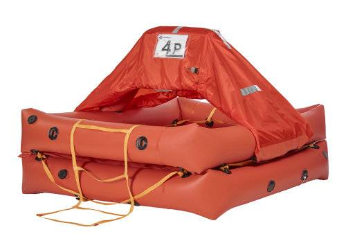 Crewsaver Mariner pelastuslautta 6 hl� kontti