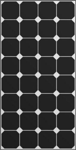 Solara Dc solar 110 wp sunpower black