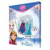 Elsa Måla din egen canvastavla, Elsa & Anna Glitter, Disney Frozen