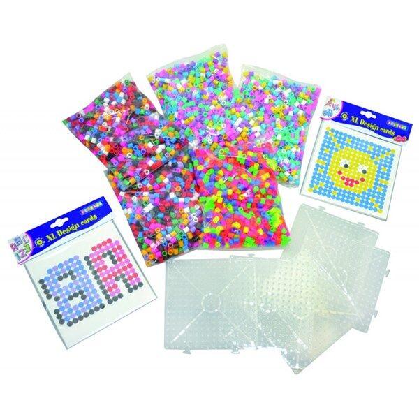 Playbox, Start Set, XL pärlor, Blandade Färger