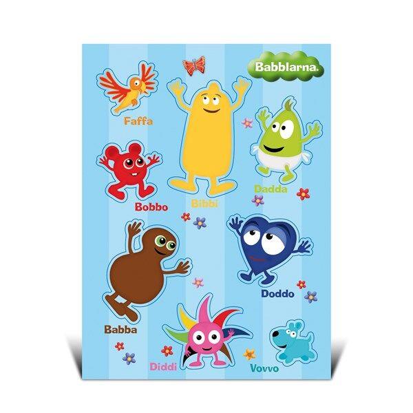 Stickers A5, Babblarna