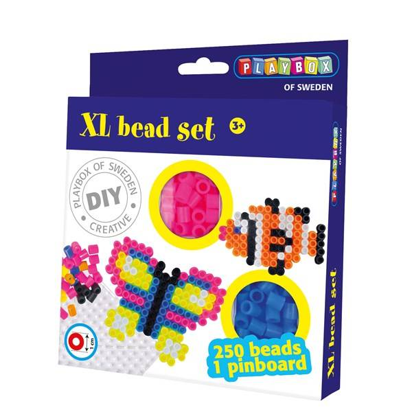 XL-pärlset, Fjäril & Fisk, Playbox