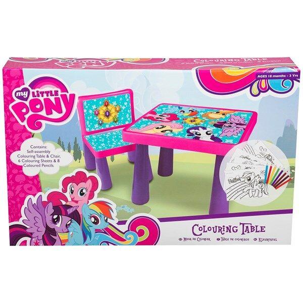 Ritbord och stol med tillbehör, My Little Pony
