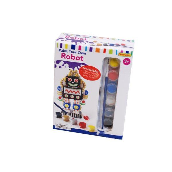 Måla din egen robot,  6 färger ingår