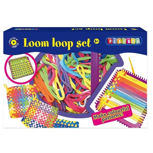 Loombands kehys ja Looms Playbox