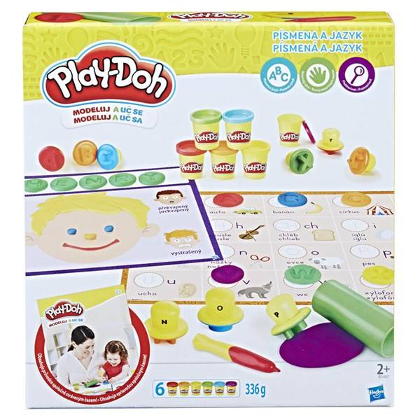 Play-Doh Playdoh Letters And Language, Play-Doh