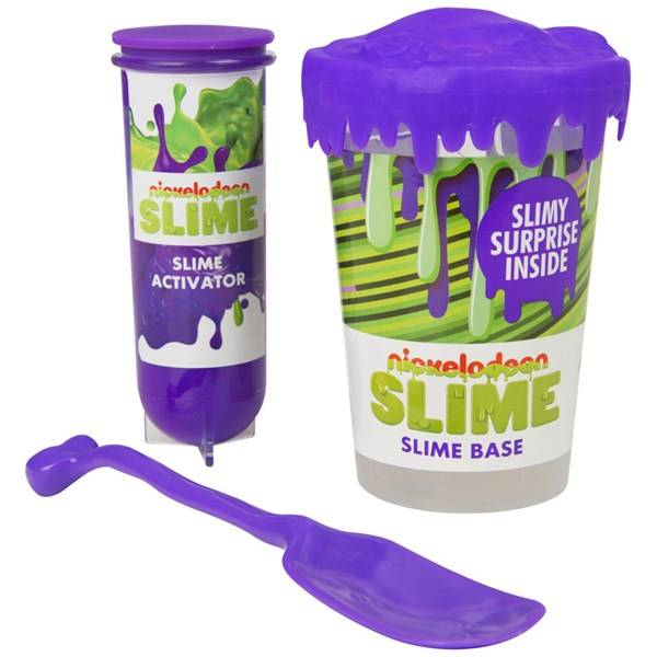 Nickelodeon Make Your Own Slime Set Purple