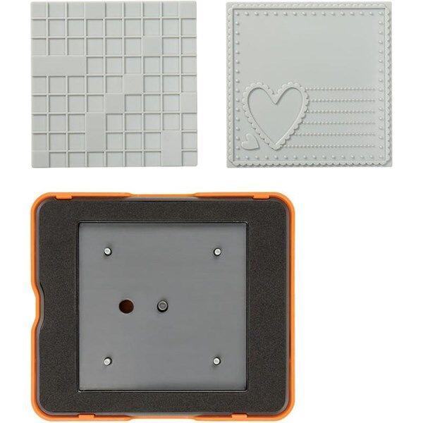 Fiskars Fuse® - Medium Design Set , koko  10x12  cm, neliö, 1kpl