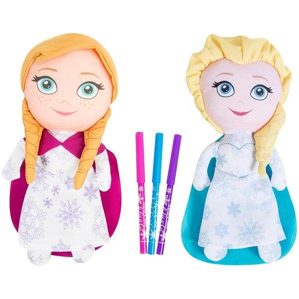 Måla dina egna Frost-dockor, Disney Frozen