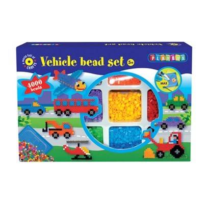 Helmipakkaus Kulkuneuvot, 4000 kpl, Playbox