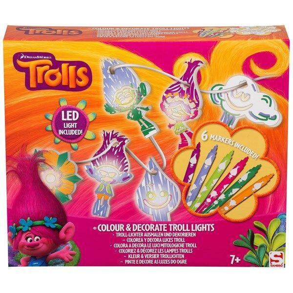 Skapa och dekorera din egen ljusslinga, Trolls