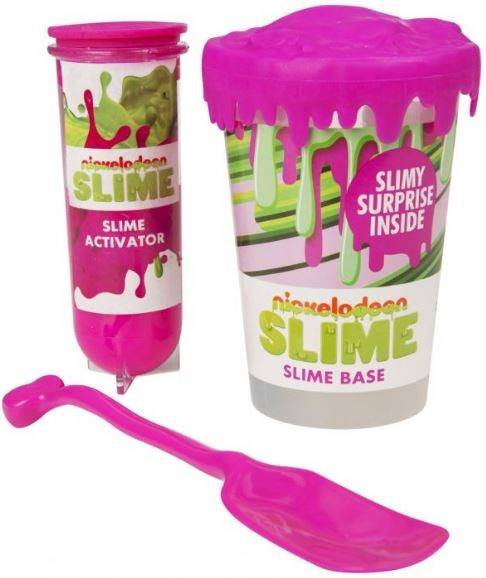 Nickelodeon Make Your Own Slime Set Pink