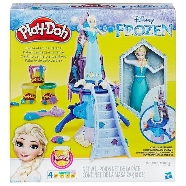 Play-Doh Disney Frozen Lumottu Jäälinna