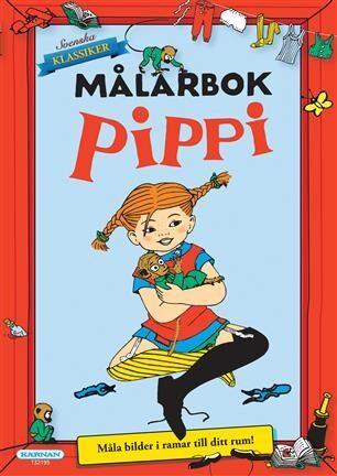 Målarbok Pippi, Egmont Kärnan