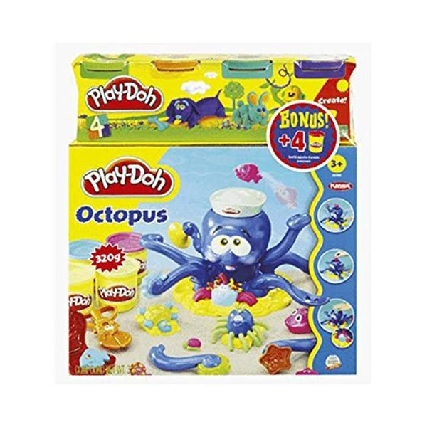Octopus Playset + 4 cans of dough, Play-Doh