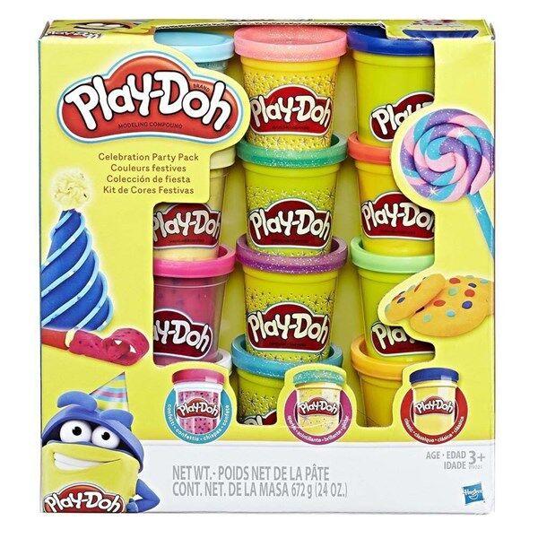Play-Doh Glitter 10-Pack