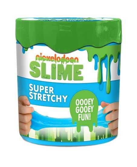 Nickelodeon Super Stretchy Blue Slime