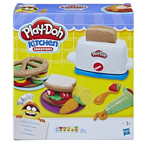 Play-Doh Toaster Creations, Play-Doh