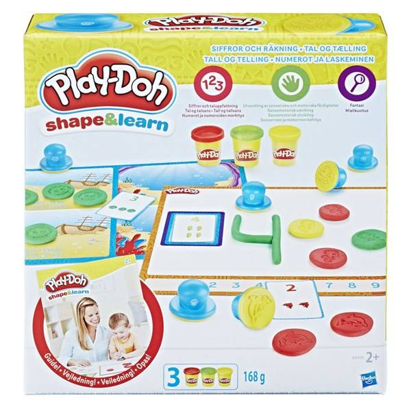 Play-Doh Playdoh Numbers And Counting, Play-Doh