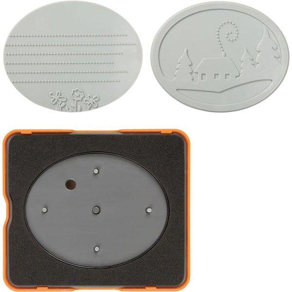Fiskars Fuse® - Medium Design Set , koko  10x12  cm, ovaali, 1kpl