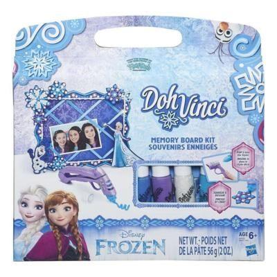 DohVinci Frozen Memory Board Koristelusetti