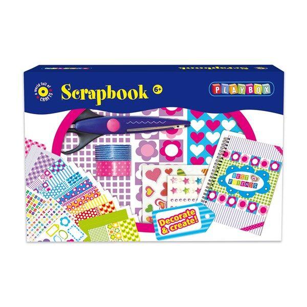 Askartelupakkaus Scrapbooking Playbox