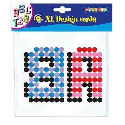 XL-Mönsterkort, ABC, Playbox