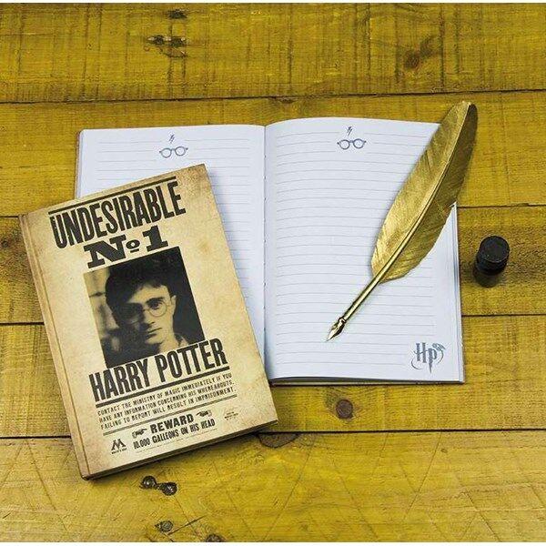 Harry Potter Lentikulaarinen Muistikirja